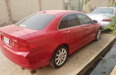 Nigeria Used Acura TSX 2006 Model Red