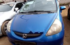 Foreign Used Honda Jazz 2006 Model Blue