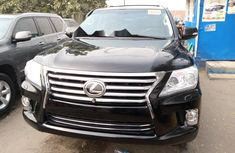 Foreign Used Lexus LX 2014 Model Black