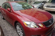 Foreign Used Lexus GS 2007 Model Red