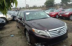 Foreign Used Toyota Avalon 2011 Model Black
