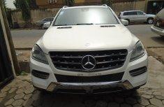 Nigeria Used Mercedes Benz ML 350 2010 Model White