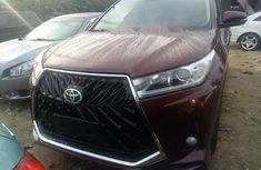 Foreign Used Toyota Highlander 2016 Model Red