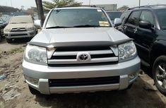 Foreign Used Toyota 4-Runner 2005 Model Silver for Sale