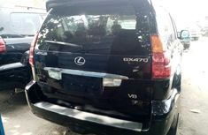 Foreign Used Lexus GX 470 2007 Model Black for Sale