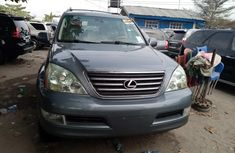 Foreign Used Lexus GX 470 2006 Model Silver for Sale