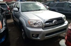 Foreign Used Toyota 4-Runner 2008 Model Silver for Sale