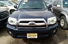 Foreign Used Toyota 4-Runner 2008 Model Blue for Sale