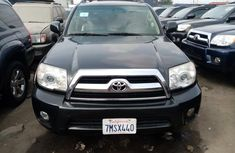 Foreign Used Toyota 4-Runner 2008 Model Gray for Sale