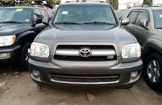Foreign Used Toyota Sequoia 2006 Model Gray for Sale