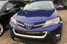Foreign Used Toyota RAV4 2015 Model Blue for Sale