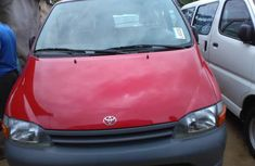 Foreign Used Toyota Hiace Bus 2002 Model Red for Sale