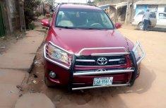 Nigeria Used Toyota RAV4 2011 Model Red