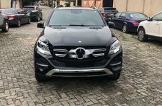 Foreign Used Mercedes-Benz GLE 2017 Model Black