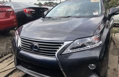 Foreign Used Lexus RX 350 2012 Model Gray