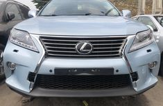 Foreign Used Lexus RX350 2012 Model Blue for Sale