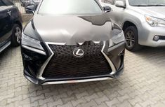 Foreign Used Lexus RX 2018 Model Black