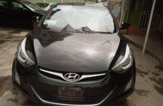 Nigeria Used Hyundai Elantra 2014 Model Black