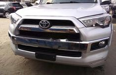 Foreign Used Toyota 4-Runner 2015 Model Silver