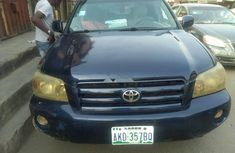 Nigerian Used Toyota Highlander now available for sale