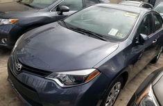 Foreign Used Toyota Corolla 2016 Model Gray