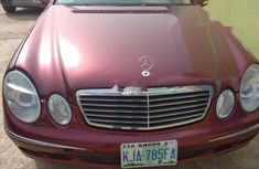 Nigeria Used Mercedes-Benz E320 2004 Model Red