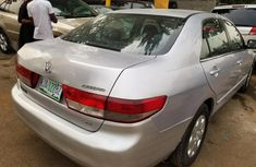 Nigerian Used Honda Accord 2004 Petrol Automatic Grey/Silver