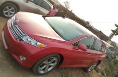 Foreign Used 2012 Red Toyota Venza for sale in Lagos.