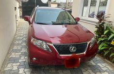 Nigeria Used Lexus RX 2011 Model Red
