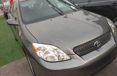 Foreign Used Toyota Matrix 2007 Model Gray