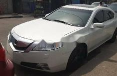 Foreign Used Acura TL 2009 Model White