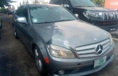 Nigerian Used Mercedes-Benz C300 2008 Model Black