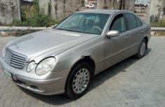 Nigeria Used Mercedes-Benz E200 2003 Model Silver