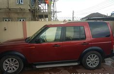 Foreign Used Land Rover LR3 2006 Model Red