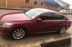 Foreign Used Lexus GS 2006 Model Red