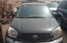 Nigeria Used Toyota RAV4 2003 Model Black
