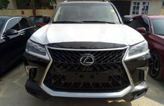 Foreign Used Lexus LX 2017 Model Gray