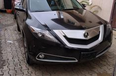 Nigeria Used Acura ZDX 2011 Model Black