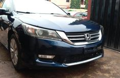 Foreign Used Honda Accord 2013 Model Blue