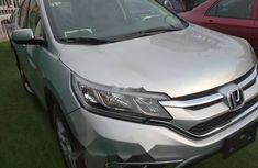Foreign Used Honda CR-V 2015 Model Silver