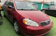 Foreign Used Toyota Corolla 2005 Model Red
