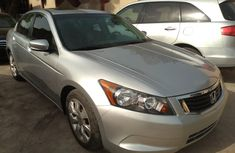 Foreign Used Honda Accord 2008 Model Silver