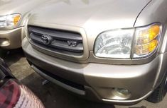 Foreign Used Toyota Sequoia 2004 Model Gold
