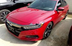 Foreign Used Honda Accord 2017 Model Red