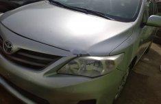 Nigeria Used Toyota Corolla 2013 Model Silver