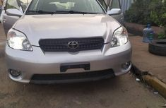Foreign Used Toyota Matrix 2008 Model Silver