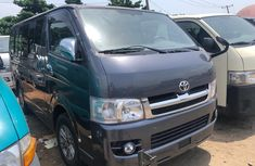 Foreign Used Toyota Hiace Bus 2009 Model Gray