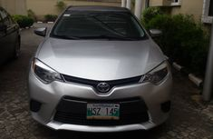 Foreign Used Toyota Corolla 2016 Model Silver for Sale