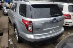 Foreign Used Ford Explorer 2012 Model Silver for Sale