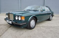 Foreign used Bentley Turbo R 1991